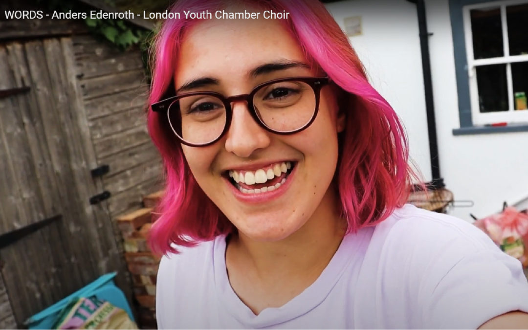 Words – Chamber Choir go virtual